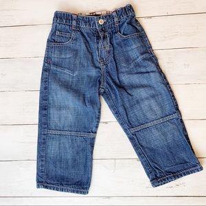 Burberry straight legged jeans // baby